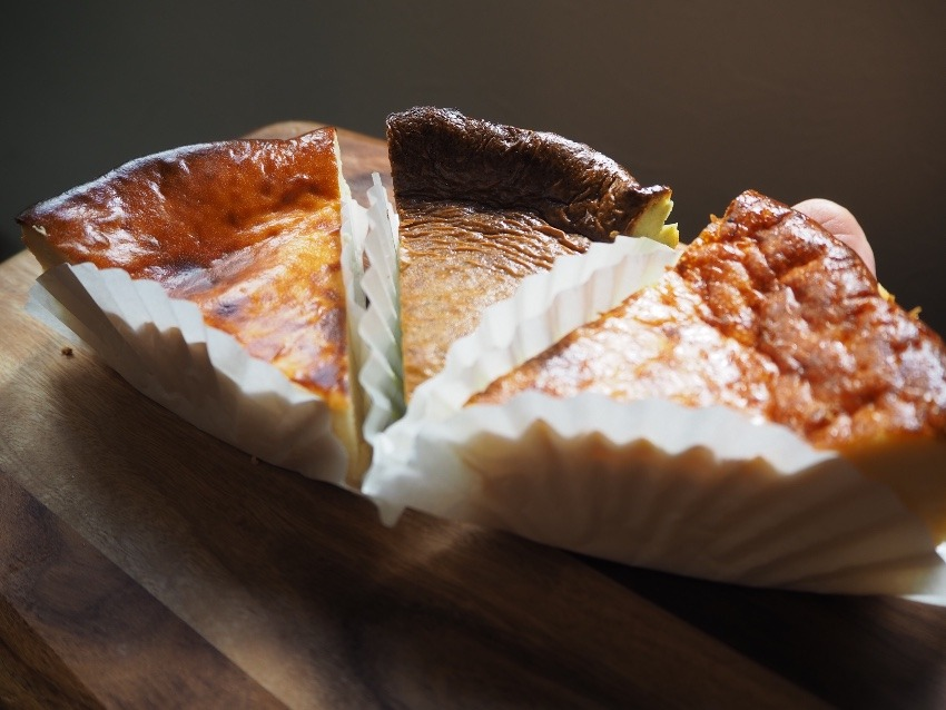 嬉しいニュース!低カロリー・低糖質のバスクチーズケーキ新登場!