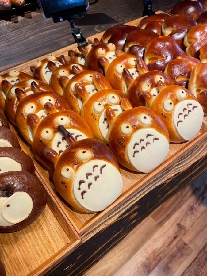 かわい子ちゃん発見♪行列必須のパン屋さん
