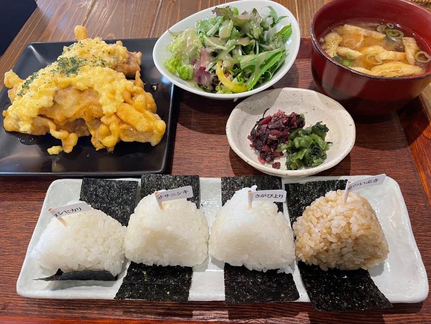 お米の食べ比べランチ